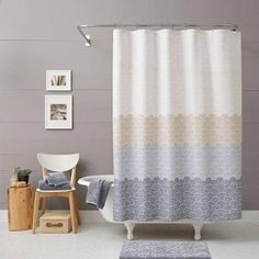 Better Homes and Gardens Ombre Shower Curtain - Walmart.com master or guest?