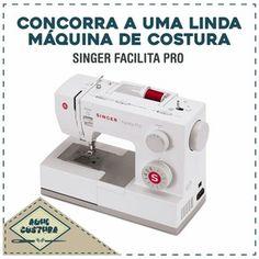 Sorteio Linda Máquina de Costura Singer Sorteios e Amostras Grátis