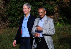 Tim Cook and Bill Gates were on the list of potential Hillary Clinton VPs Hillary Clinton was considering several tech leaders among a list of potential running mates according to leakedemails supposedly from Clintons campaign manager John Podesta.  In an email sent March 17 2016Podesta mentions a first cut of those Clinton might consider as her vice president. In one section of that list organized into food groups is Tim Cook Bill and Melinda Gates GMs Mary Barra and Xeroxs Ursula Burns…