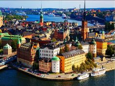 Stockholm, Sweden. Loved this beautiful city - spent time with our Swedish friends here in May 2011