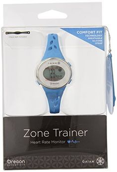 Oregon Scientific SE331 Gaiam Zone Trainer 3.0 Watch, Blue by Oregon Scientific * More info could be found at the image url.