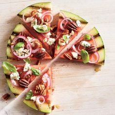 Grilled Watermelon Pizza - MyRecipes