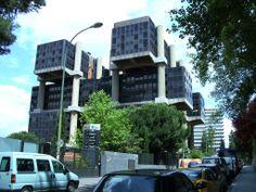 Edificio AGF Albacete 5, Madrid (foursquare pin is down the street)