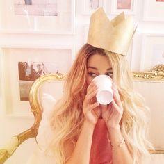 princess for a day (via Kristin Ess Instagram)