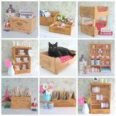 artesanato com caixote de feira - Pesquisa Google