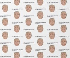 Donald Trump Wrapping Paper | Gift Wrapping Paper | Birthday Wrapper A3 Xmas Greeting Cards, Xmas Greetings, Funny Christmas Cards, Christmas Humor, Wrapping Paper Design, Gift Wrapping Paper, Gift Wrapper, Christmas Gift Wrapping, Paper Gifts