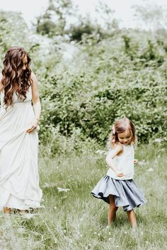 Mommy and Toddler Summer Fashion