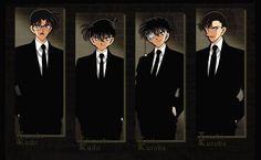 Yusaku & Shinichi & Kaito & Toichi