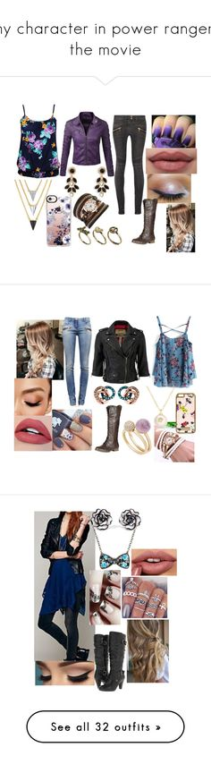 """""""my character in power rangers the movie"""" by sophie-quake-jones ❤ liked on Polyvore featuring Forever 21, Vera Bradley, Brixton, Classics 77, Balmain, Monika Strigel, Refresh, Chicwish, Michael Kors and Superdry"""