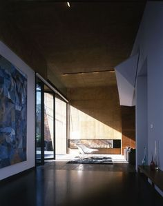 This very cohesive residence in Mexico City was designed by Garduno Architects