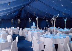 Dress Wedding Winter Navy Blue Ideas For 2019 Navy Blue Wedding Theme, Wedding Reception Themes, Blue Wedding Decorations, Blue Beach Wedding, Wedding Table Settings, Wedding Colors, Wedding Ideas, Wedding Venues, Diamond Wedding Theme