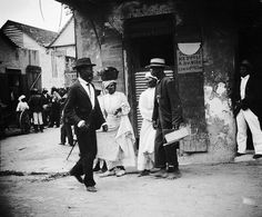 Street Scene, Bridgetown, Barbados, 1906 | by The Caribbean Photo Archive