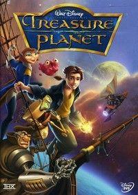 Disney Treasure Planet Dvd Em 2020 Planeta Do Tesouro