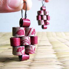 Floreale gioielli Peyote orecchini  Eco amichevole gioielli