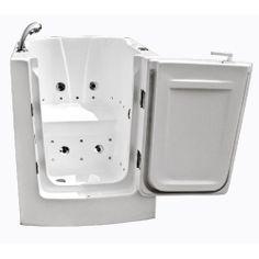 walk in bathroom fixtures | ... 32'' Walk-In Tub with Whirlpool: Plumbing & Fixtures : Walmart.com