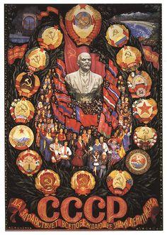 13 Striking Soviet Propaganda Posters You Can Hang On Your Wall Cold War Propaganda, Communist Propaganda, Propaganda Art, Foto Tokyo Ghoul, Russian Constructivism, Socialist Realism, Soviet Art, Illustration Art, Flag