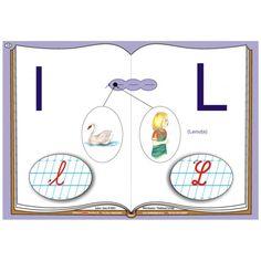 Alfabetul-planse pentru recunoasterea sunetelor si invatarea  literelor Classroom Decor, Children, Young Children, Boys, Child, Kids, Classroom Displays, Children's Comics, Kids Part