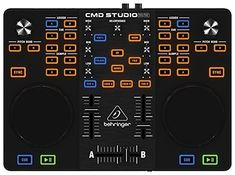 Complete DJ setup in-a-box including dual-deck DJ controller with built-in audio interface and voucher for rock-solid Image-Line Deckadance* LE software Ver Midi Keyboard, M Audio, Dj Setup, Easy Piano, The Dj, Mac Os, Gallery, Music, Bending