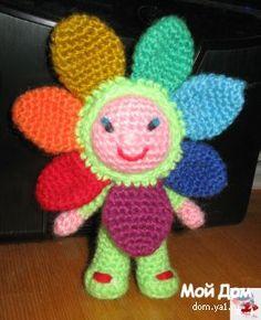 игрушка цветок