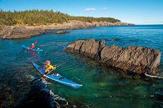 Best Sea-Kayaking Trail- Maine Island Trail