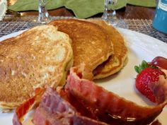 The Asheville Foodie: Oatmeal-Brown Sugar Pancakes