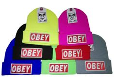 Touca Obey Colors