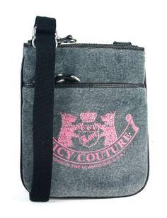 Amazon.com: Juicy Couture Cross Body Grey Purse Handbag: Shoes