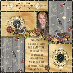 Renee has used a Droplet Template to create her page. I love how she has used only one photo here. With her used of the papers and elements, she draws attention to the photo itself. LOVE her clusters!!  #SnickerdoodleDesigns #digitalscrapbooking