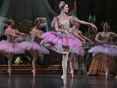 Sleeping Beauty Fairies. Choreographed in 1890 by Marius Petipa, music by Tchaikovsky