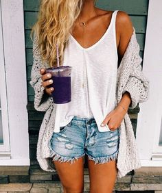 45 Cozy Summer Outfits Ideas For Women To Looks More Trendy