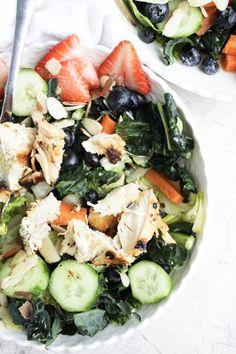 Spring Kale salad ww