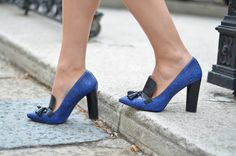 #fashion #shoes Beeswonderland: Colorblocking coat
