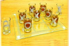 Crystal Clear Shot Glass Tic Tac Toe Bar Game Set *** To view further for this item, visit the image link.