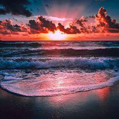 Sunset Photo via Twitter