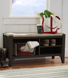 Painted Cottage Mudroom Bench: Benches at L.L.Bean