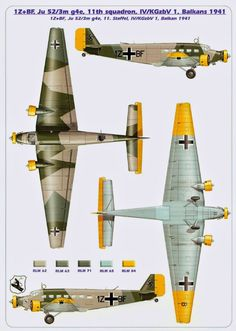 One of the greatest aircraft of history, the Junkers Ju 52 was designed by Ernst Zindel. Aircraft Parts, Ww2 Aircraft, Military Aircraft, Luftwaffe, Focke Wulf 190, Ww2 Planes, Aviation Art, Planer, Wwii