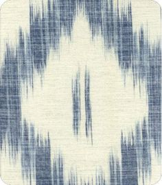 ikat - weaving of specially dyed threads into an imperfect pattern. Indonesia.
