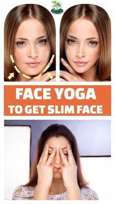 FACE YOGA TO GET SLIM FACE #yoga #yogainspiration #face