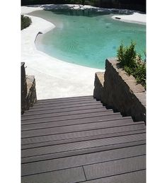 Resort Roccamare with wpc decking Marina Outside by Skema Wpc Decking, Outdoor Flooring, Italian Style, Ecology, Swimming Pools, The Outsiders, Stairs, Gallery, Water