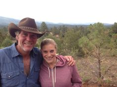 Katee Sackhoff Fun day shooting with the main man #Longmire @A Television