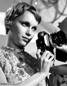 Mia Farrow & Nikon.
