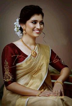 Jewelry on blouse - beautiful handwork embroidery that makes your blouse all the more glamorous. Get it custom made for you , connect with us on The Blouse Store dot Com Kerala Saree Blouse Designs, Wedding Saree Blouse Designs, Saree Blouse Neck Designs, Saree Blouse Patterns, Designer Blouse Patterns, Wedding Sarees, Wedding Dresses, Simple Blouse Designs, Stylish Blouse Design