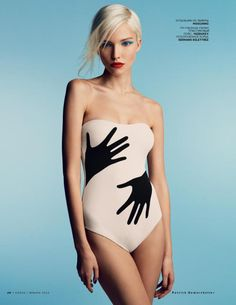 #SashaLuss by #PatrickDemarchelier for #VogueRussia January 2014