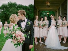 Vintage Wedding at the Grand Oaks Resort. #wedding #vintage #pink #green #classic #beauty