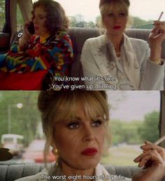 Ab Fab! Miss this show.