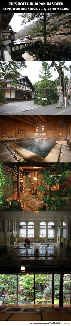 An Ancient Hotel That Has Been Functioning For 1298 Years - Hotel Hoshi in Komatsu