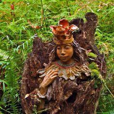Bruno Torfs magical sculpture garden rebuilt after the devastating fire in 2009