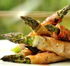 Grilled Prosciutto Wrapped Asparagus... Happy Hour Appetizers 12 | Hampton Roads Happy Hour
