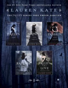 Fallen Series by Lauren Kate    These books are amazing.  I'm currently reading the last book in the series!