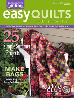 Easy Quilts Summer 2010 Magazine by New Track Media